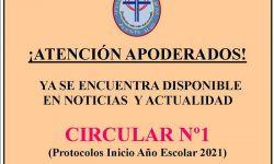 Circular n°1 2021